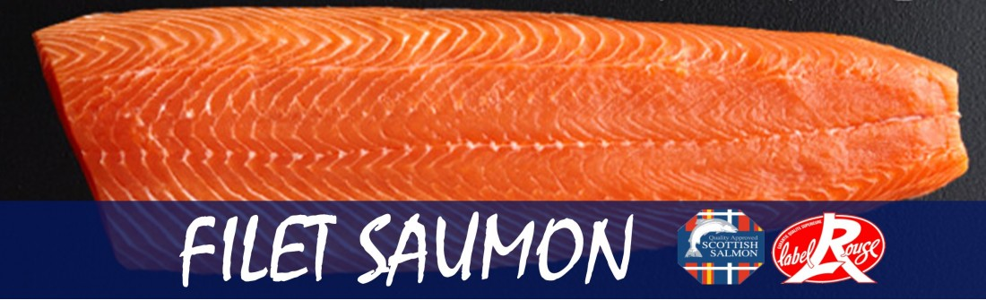 Filet saumon Label Rouge